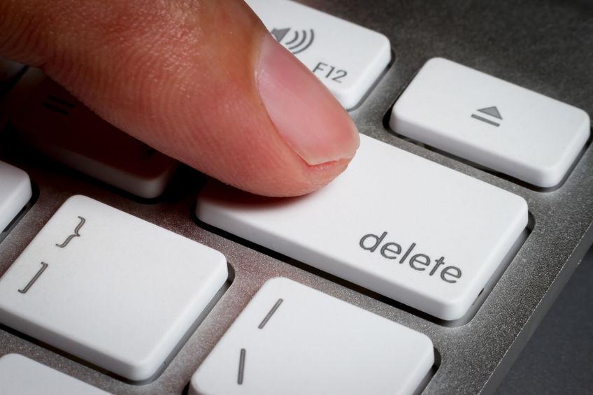delete toets chromebook