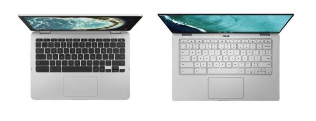 Asus Chromebook C434 vs C302 keyboard
