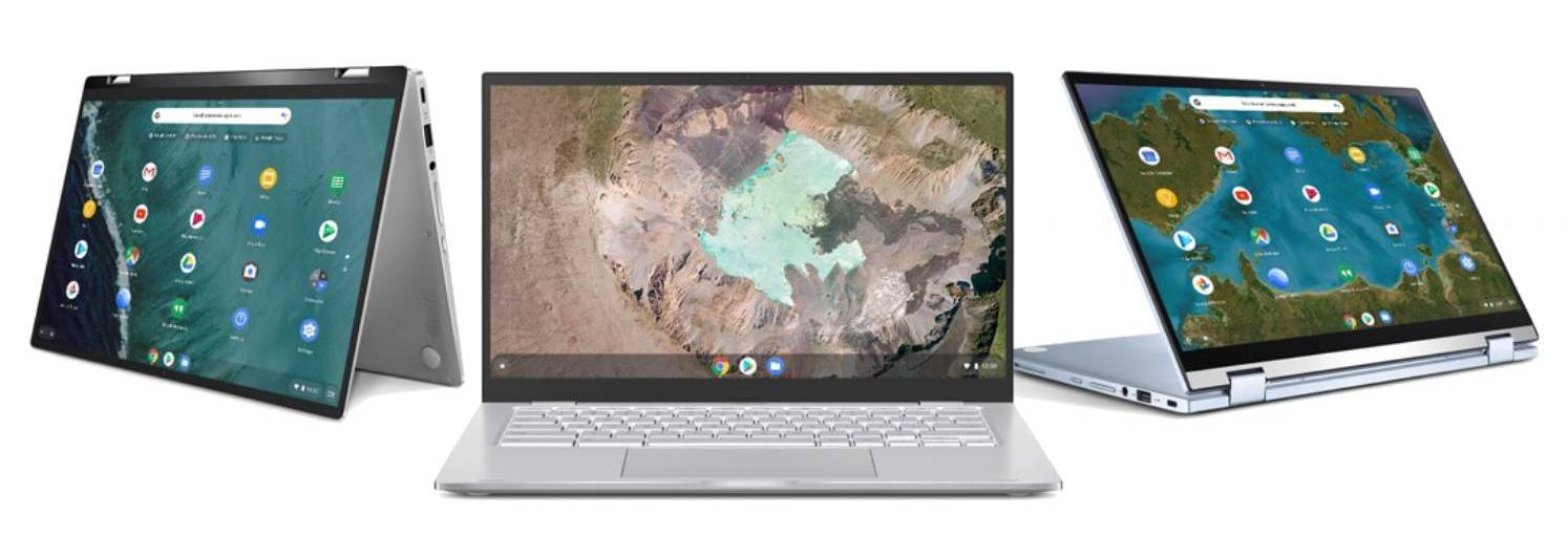Asus Chromebook 14 flip C434 vs C425 vs C433