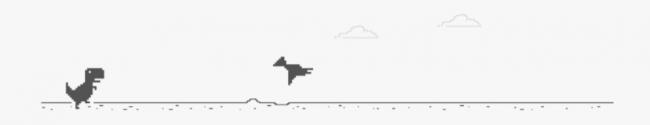 T-rex-spel-pterodactylus