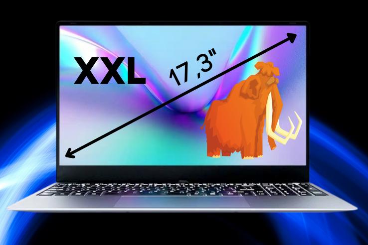 XXL 17 inch chromebook